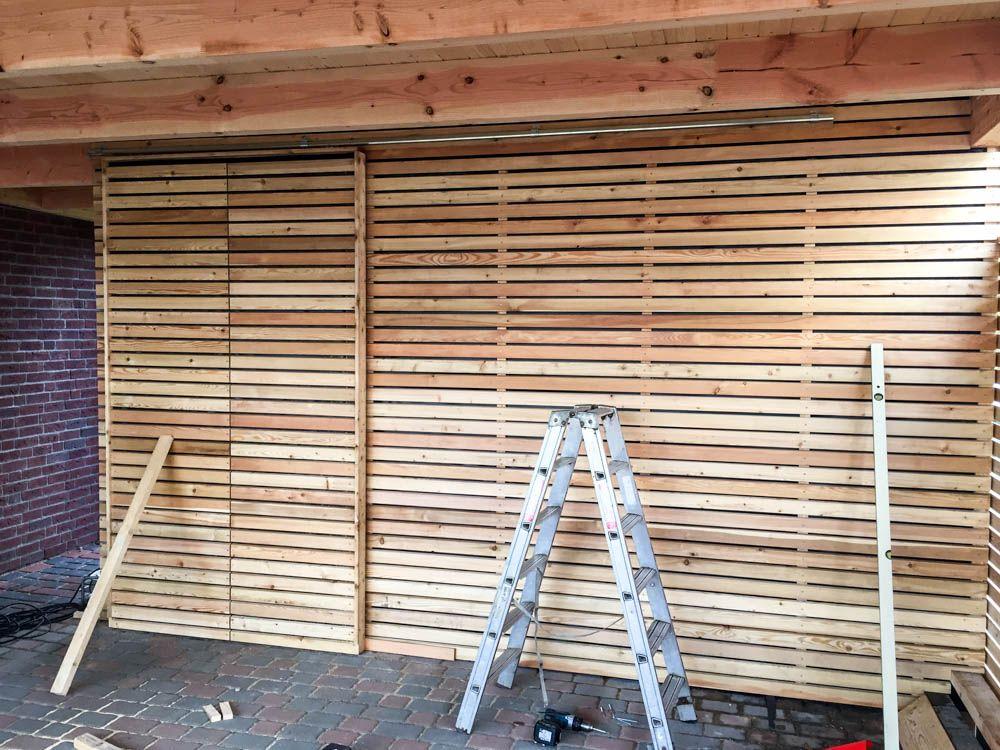Galerie Carport mit Holzverschalung Zimmerei Zeller