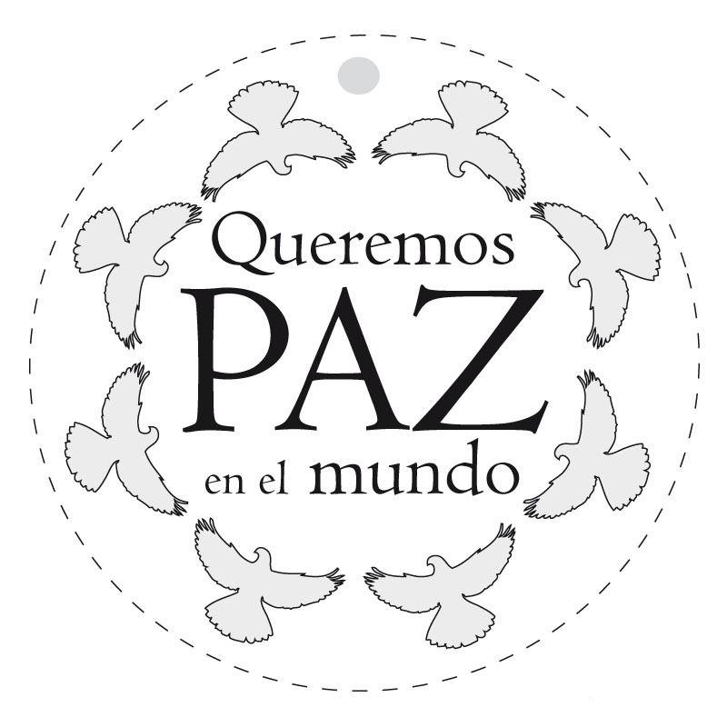 Dibujos para Colorear Paz 2 | Dia de la Paz | Pinterest | Paz ...