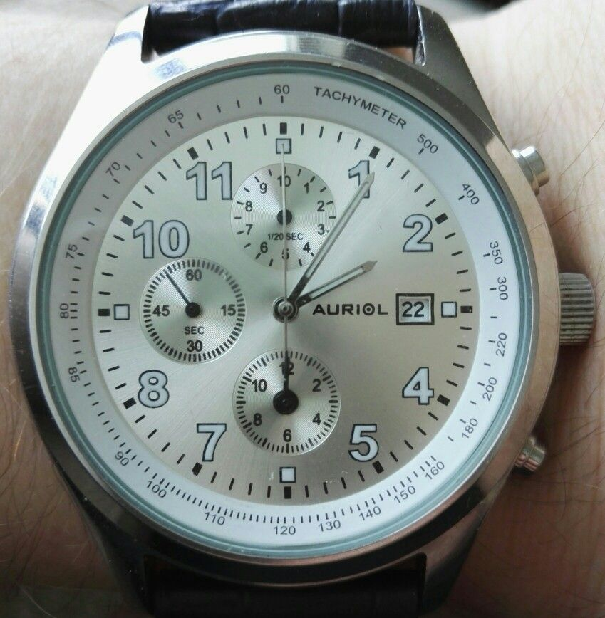 86f20b939a3 Auriol chronograph watch   EpsonYM92A Photo by Petri Saarinen. Photographic  and modification with mobile devices.