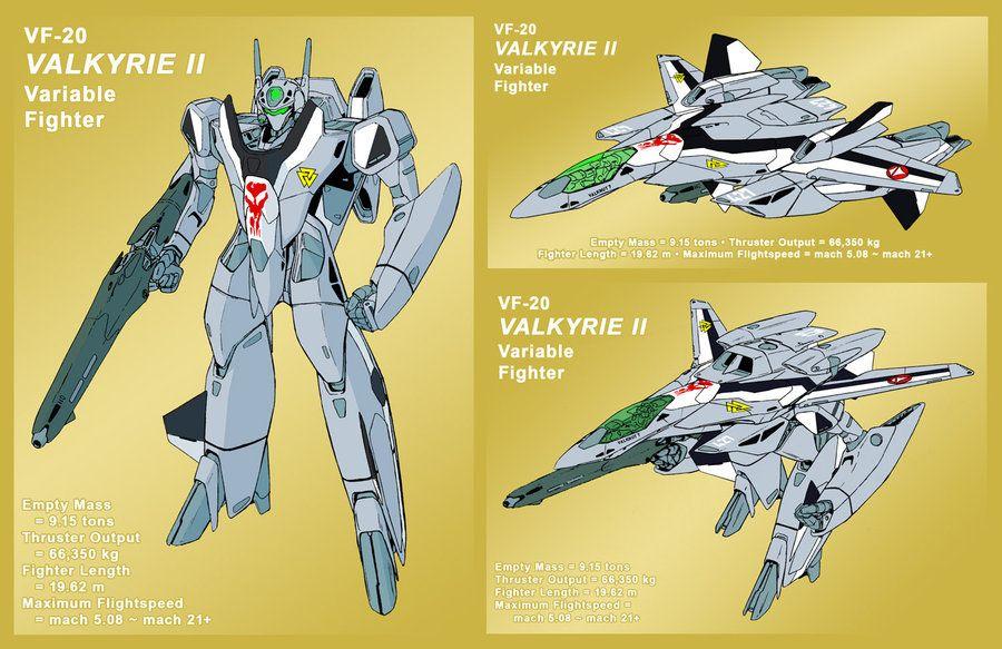 Vf 2ss Valkyrie Ii As Vf 20 By Grebo Guru On Deviantart Robotech Macross Valkyrie Robotech