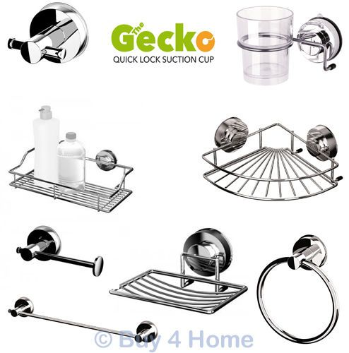 Stainless Steel Gecko Suction Bathroom