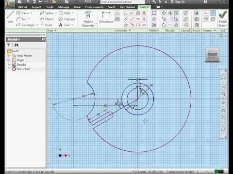 Superb Autodesk Inventor Video Tutorial Modeling A Geneva Wheel Download Free Architecture Designs Lukepmadebymaigaardcom