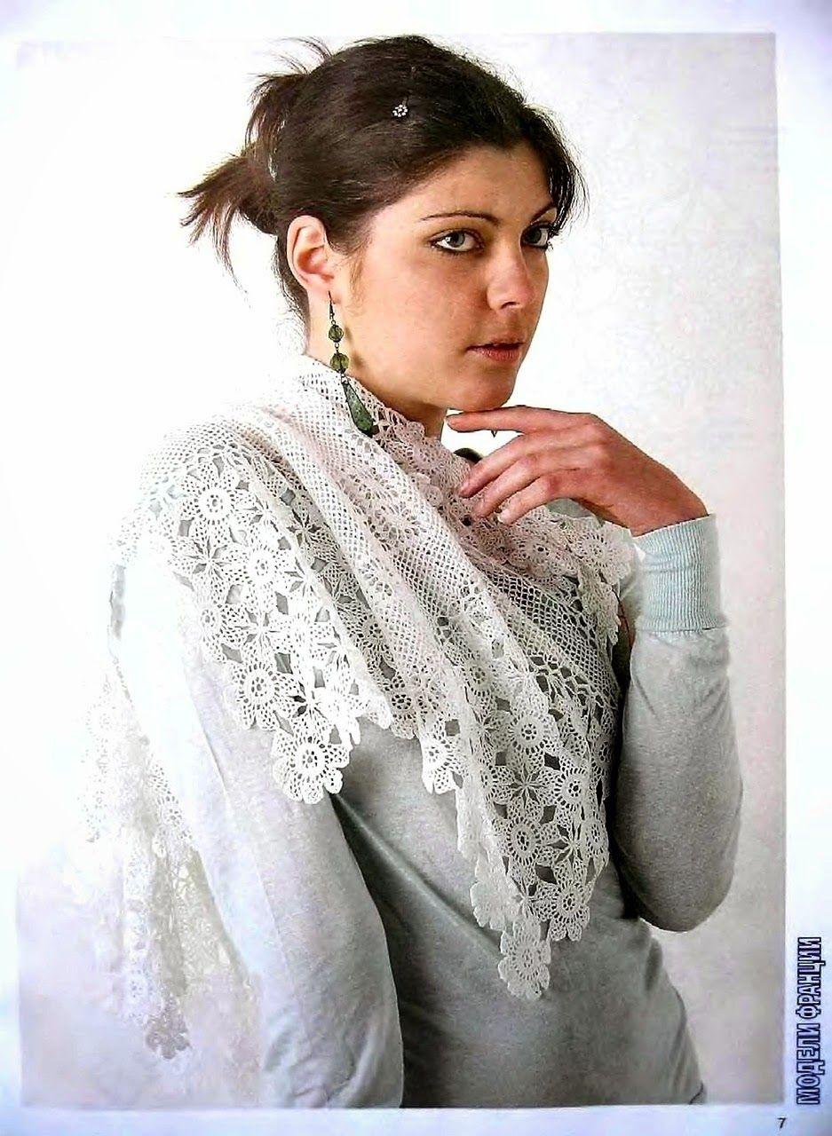 Todo crochet | crochet | Pinterest | Estola, Ponchos y Chal