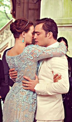 With gossip girl blair and chuck wedding