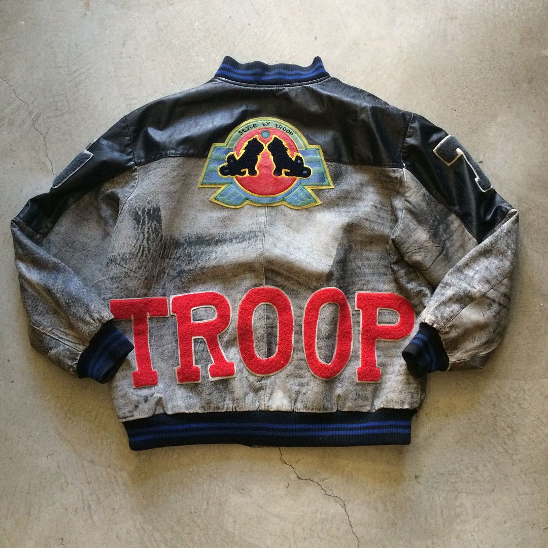 80 S Troop Leather Bomber Jacket 250 25 Shipping Domestic Sold As Is Dm For Inquiries Size Xl 30 5 Collar Vintage Jacket Leather Bomber Jacket Jackets [ 1080 x 1080 Pixel ]