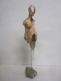 Katerina-Kalogri-Technohoros Stone, wire, colored paper