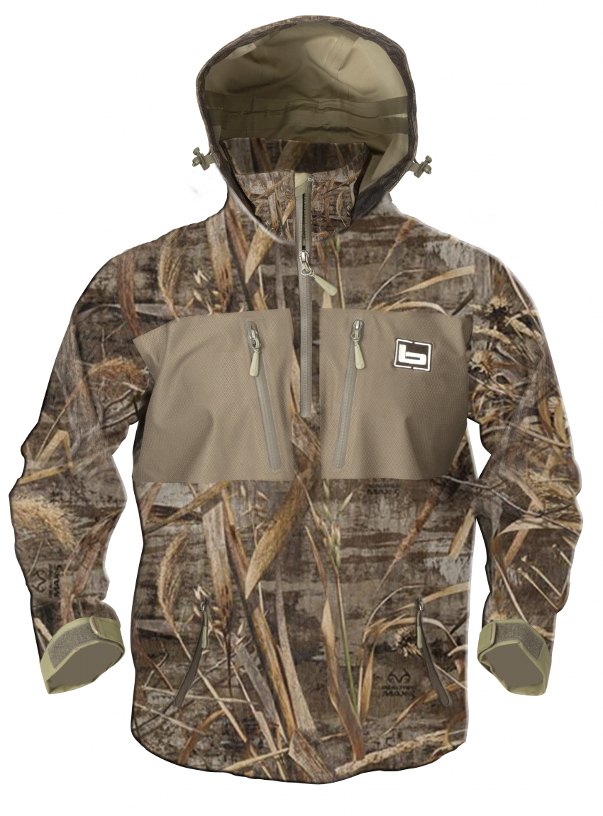 311849f60c0 Realtree waterproof hooded quarter zip pullover by Banded