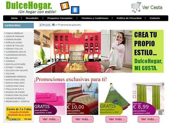 DULCE HOGAR - Tienda Online - Ofertas anti – crisis para que todos los interesados en renovar su hogar lo hagan de una forma más comoda y sencilla....