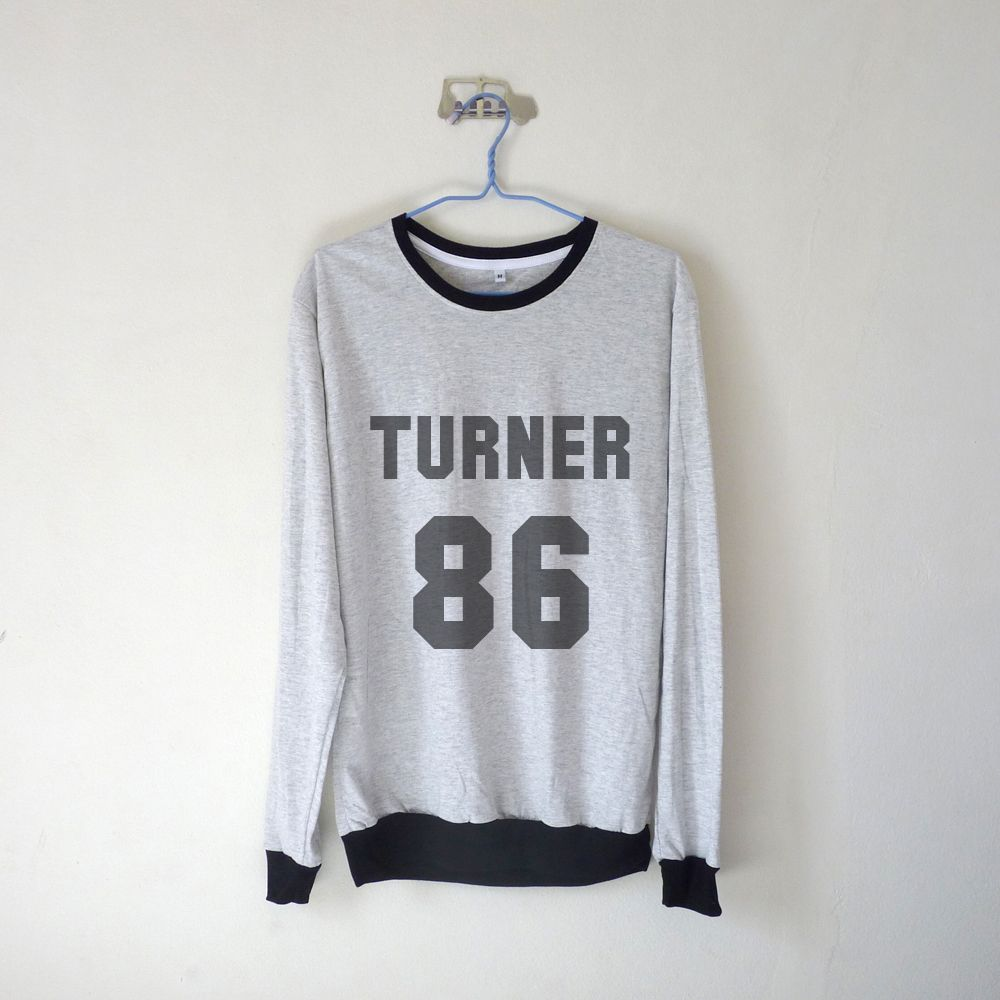 Turner 86 Sweatshirt $15.99 ; Alex Turner ; Arctic Monkeys Sweater ; Fangirl ; Graphic Tees ; Tumblr ; Teen Fashion ; Shop more #ArcticMonkeys fashion at http://kissmebangbang.com/product-category/arctic-monkeys/