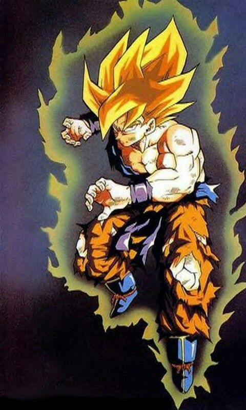 Pelea Goku Dragones Personajes De Dragon Ball Dragon Ball Z