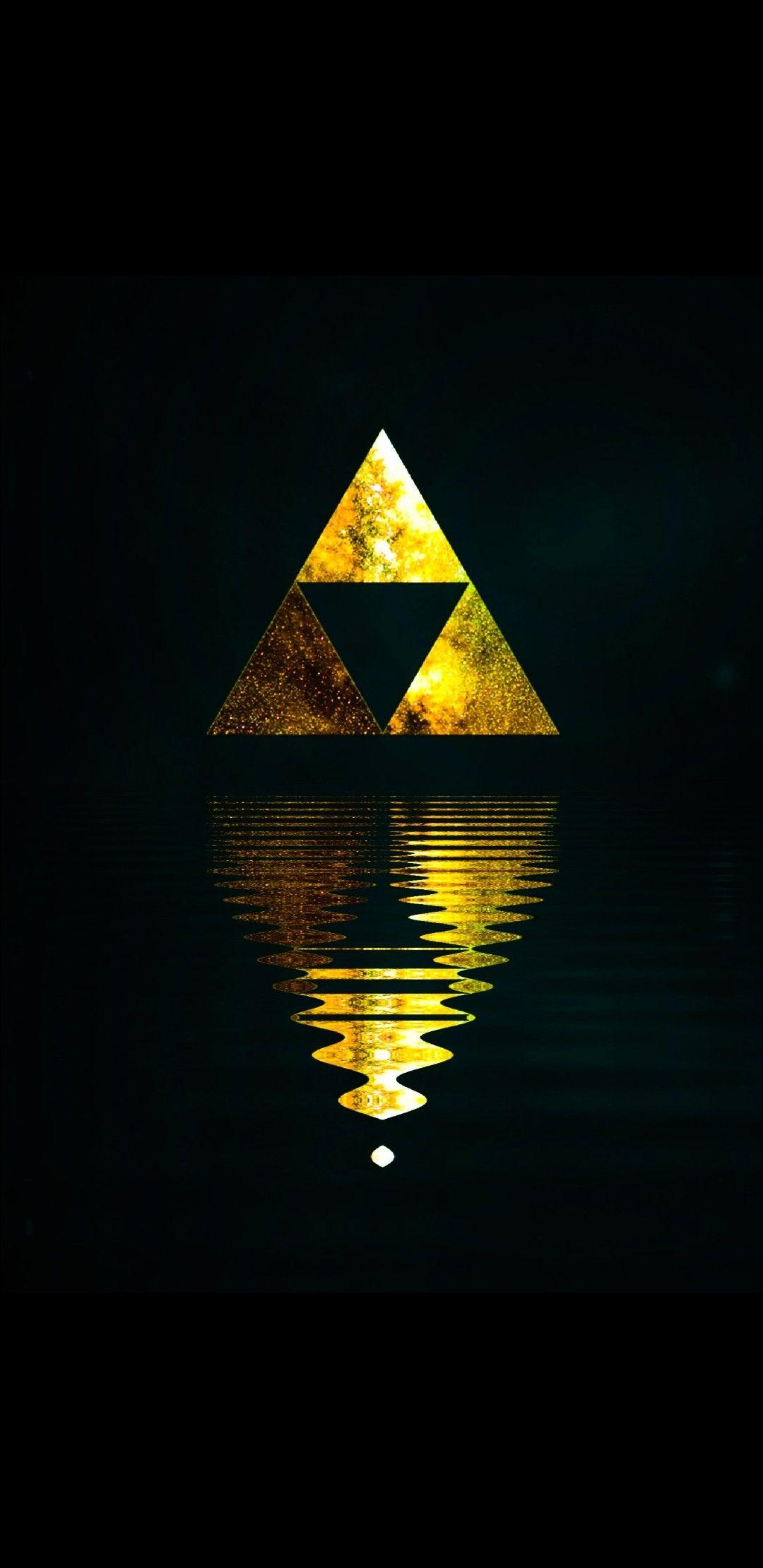 Zelda Amoled Wallpaper Triforce Breath Of The Wild Wallpaper Legend Of Zelda