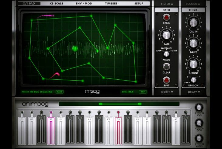 Devine Expansion Pack for Animoog Ipad music apps, Ios