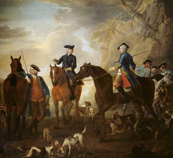 Viscount Weymouth S Hunt Mr Jackson The Hon Henry Villiers And