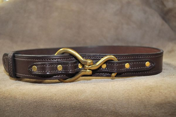 Clever With Leather's Hoof Pick Belt   One of the most popular belts in the store, all hand made by master saddler.