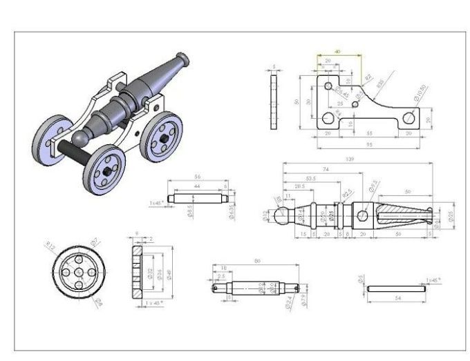 Muhammadsafe650: I will do 2d drawings, 3d models and rendering with solidworks for $5 on fiverr.com