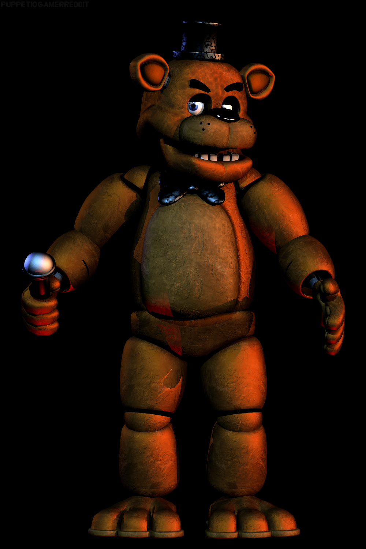 Fnaf Ucn Freddy Fazbear Full Body Render By Puppetio On Deviantart Freddy Fazbear Fnaf Mario Characters