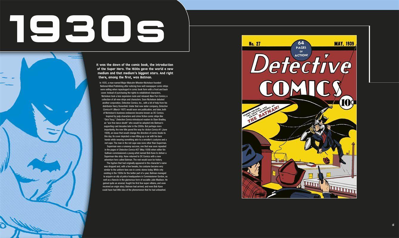 Batman: A Visual History: Matthew K. Manning: 9781465424563: Amazon.com: Books