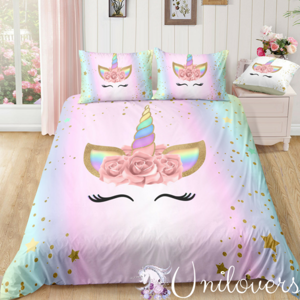 Dreambedroom Unicorn Bedroom Decor Unicorn Room Decor Unicorn Bed Set