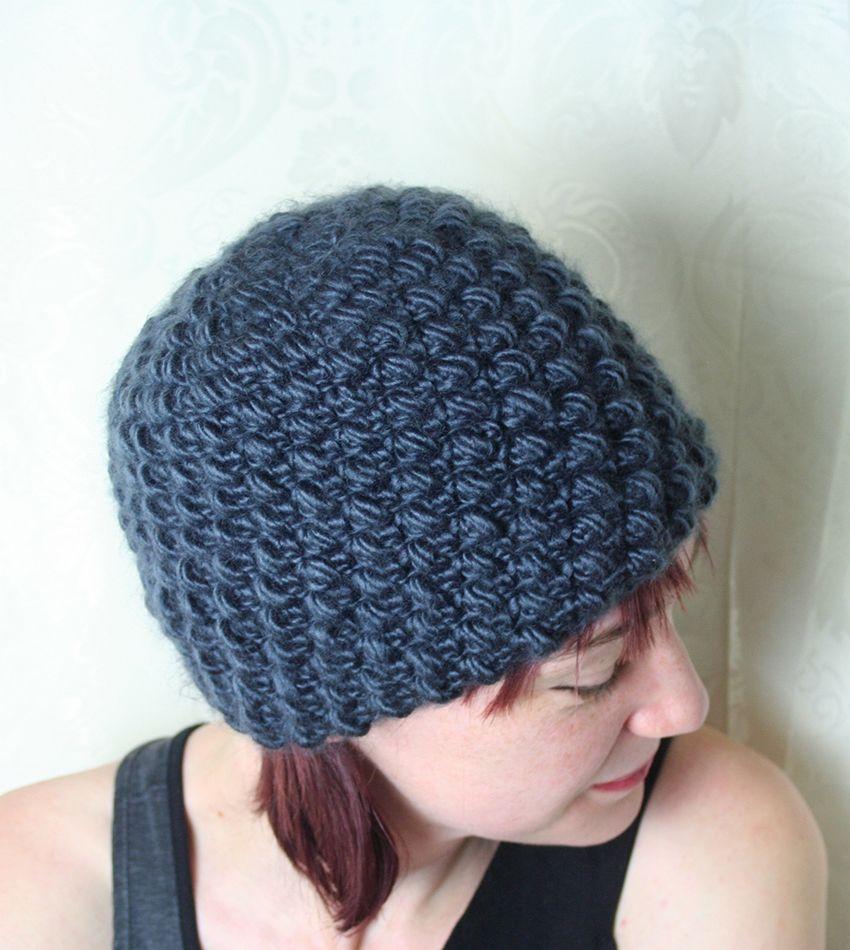 Easy Crochet Hat Pattern | Easy crochet hat, Easy crochet and Crochet