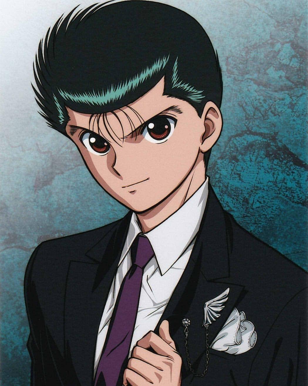Yusuke Yu Yu Hakusho Anime Drawings Anime 90s Anime