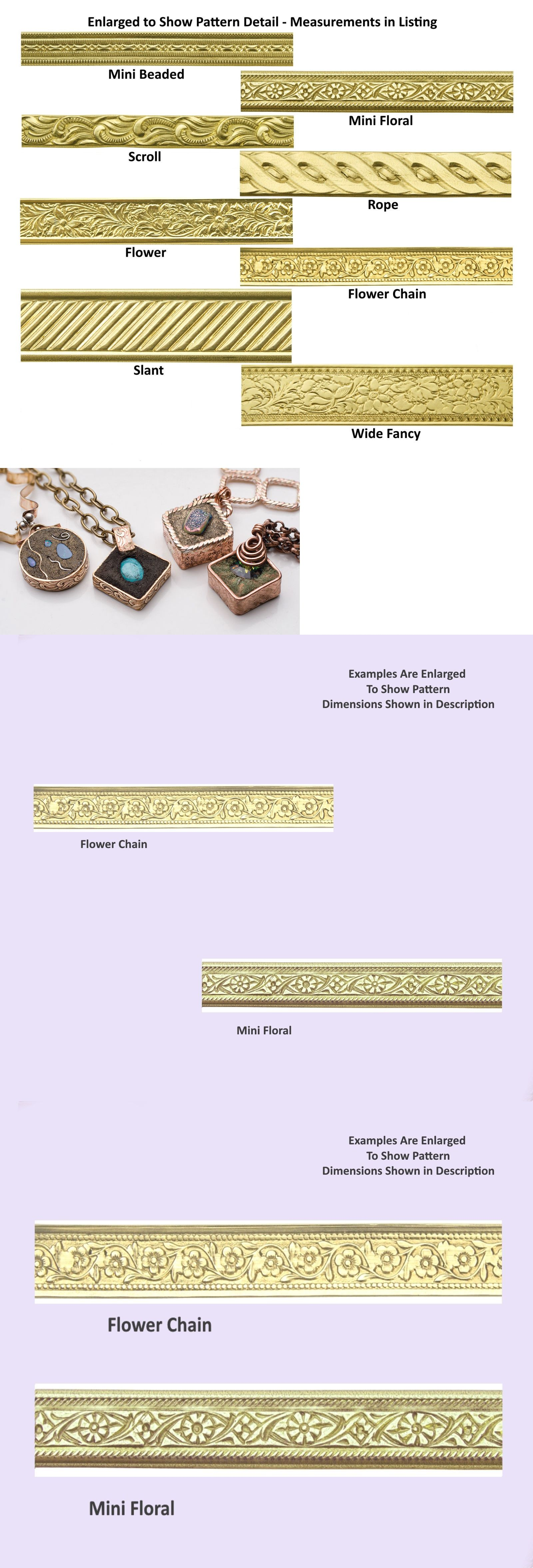 Wire 67714: Jewelers Brass Artisan Pattern Wire Nu-Gold Gauges 16-24 Dead Soft Usa Made BUY IT NOW ONLY: $31.37