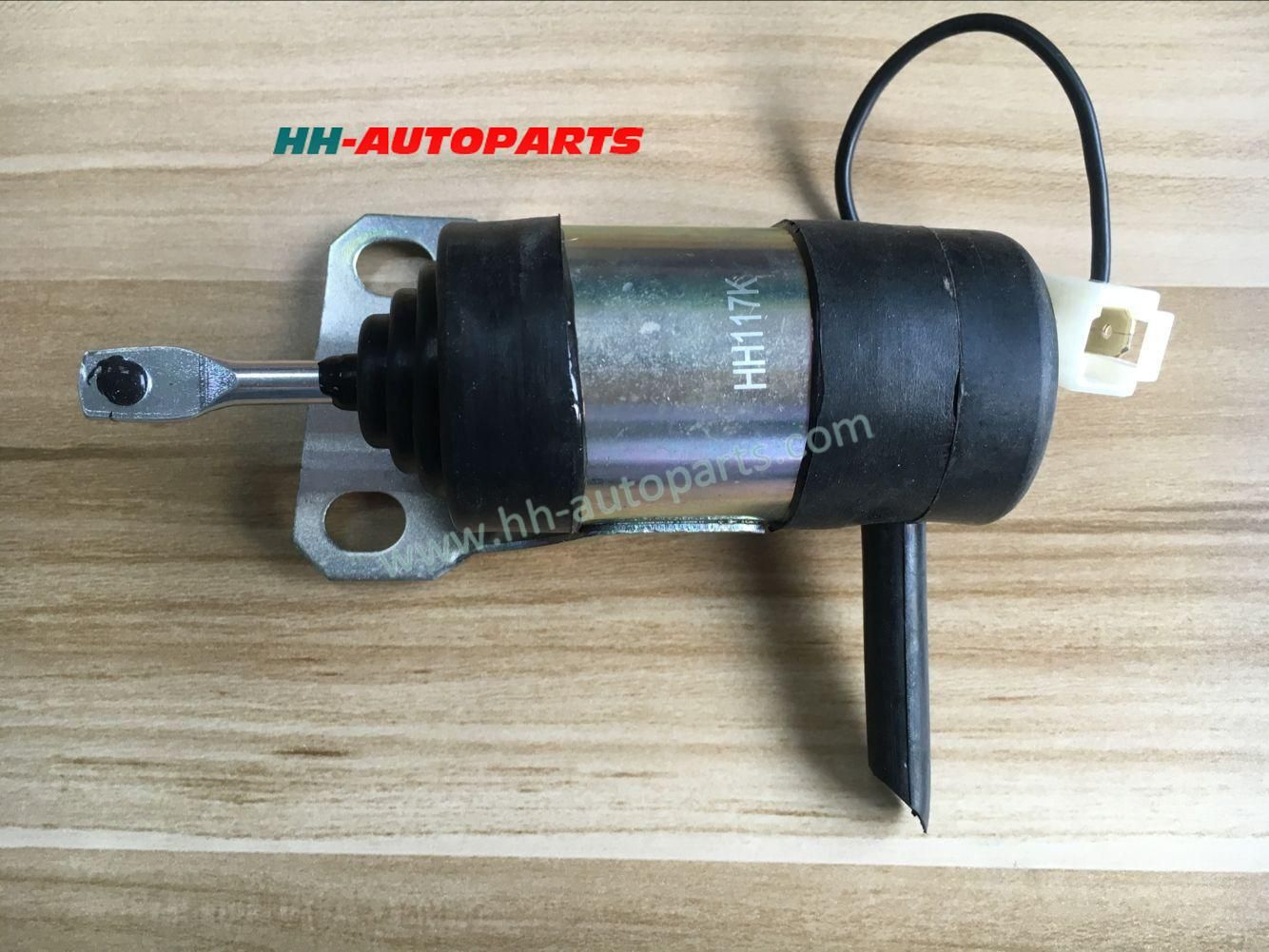 Kubota engine Shut off Solenoid 15471-60010 052600-1001 12V