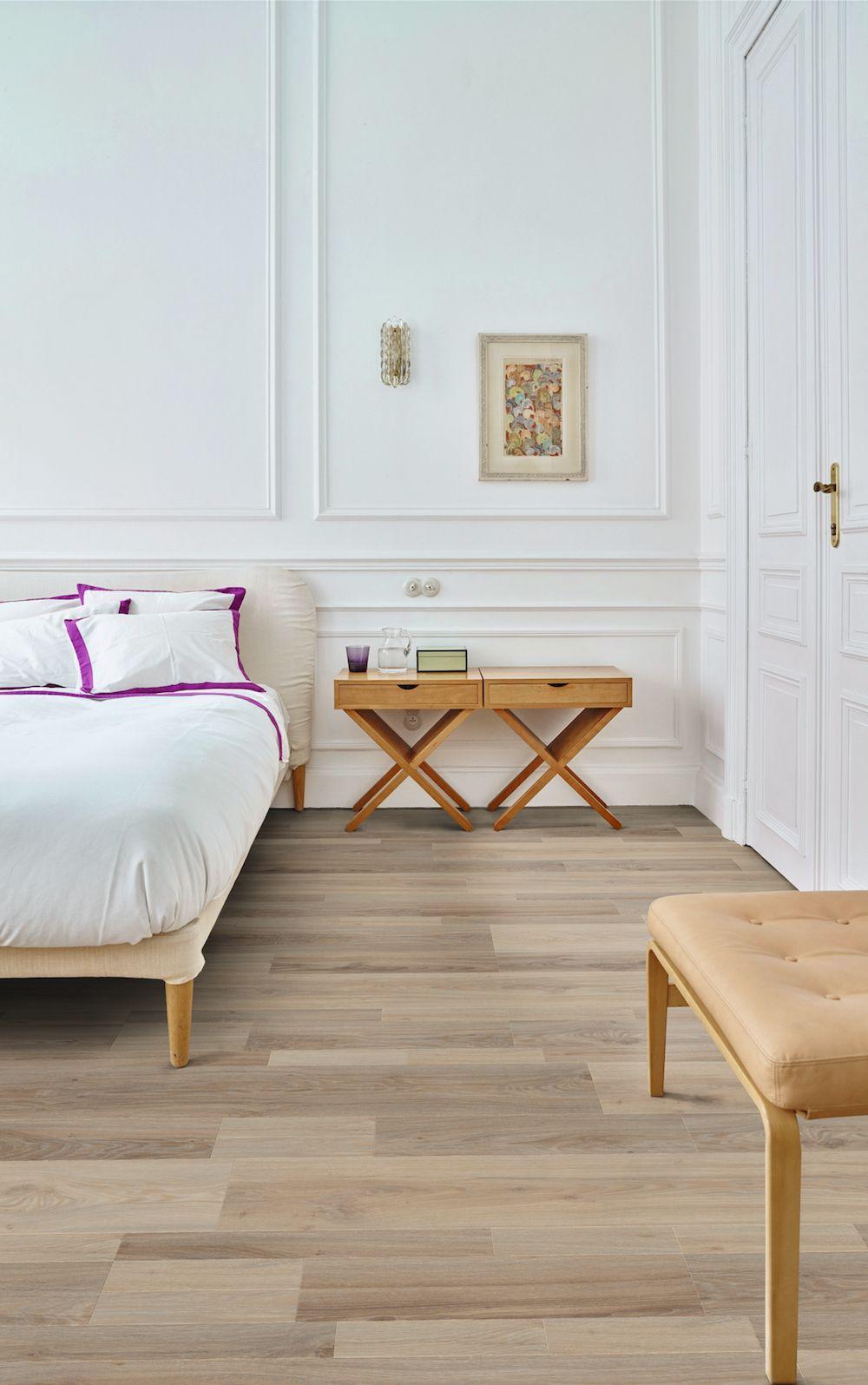 Moduleo Moods vinyl vloer met houtlook in de slaapkamer #interieur ...