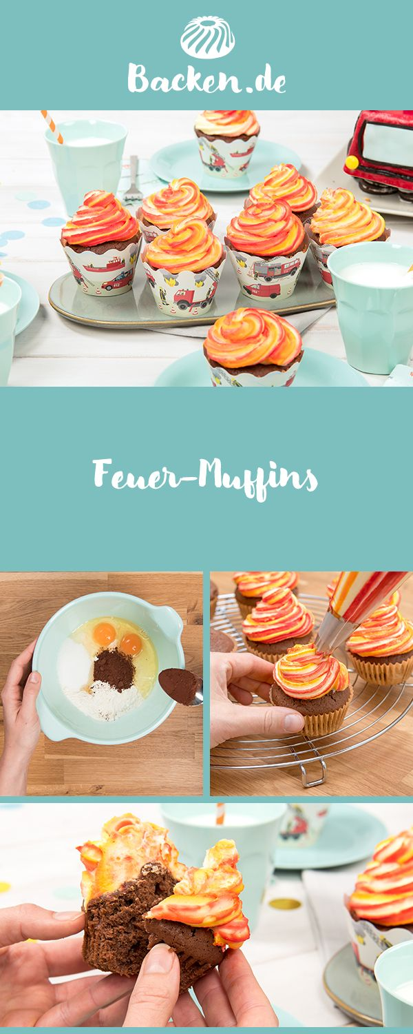 Photo of Feuer-Muffins