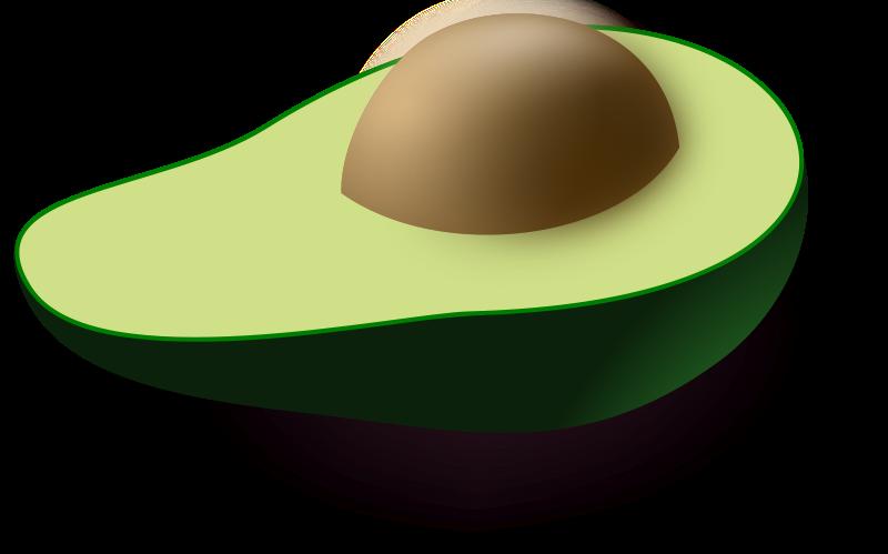 avocado Clipart Clip art, Avocado, Cool clipart