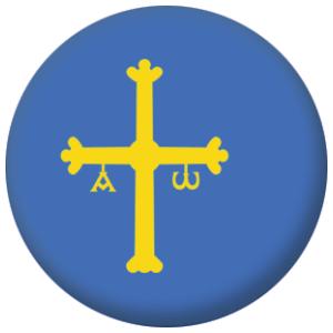 Asturias Region Flag