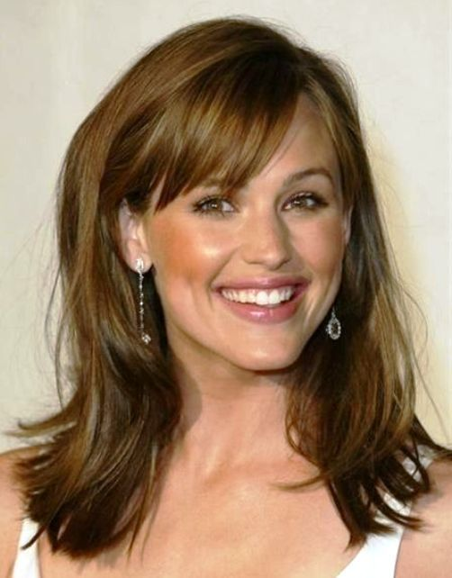 Best Hairstyles For Women Over 50 With Long Hair Thick Hair Styles Long Hair With Bangs Hair Styles