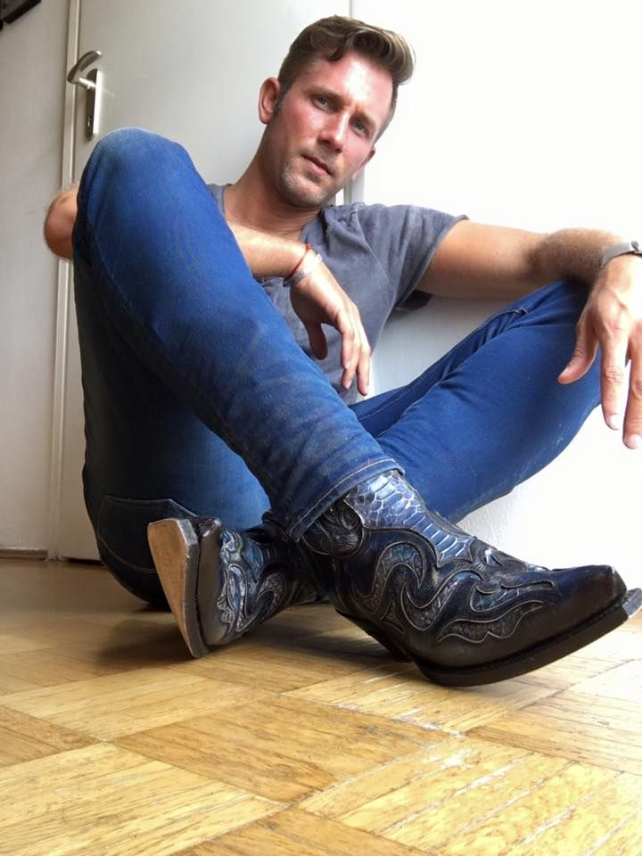 Davew2 Cowboy booted | Boots and jeans men, Cowboy boots, Boots