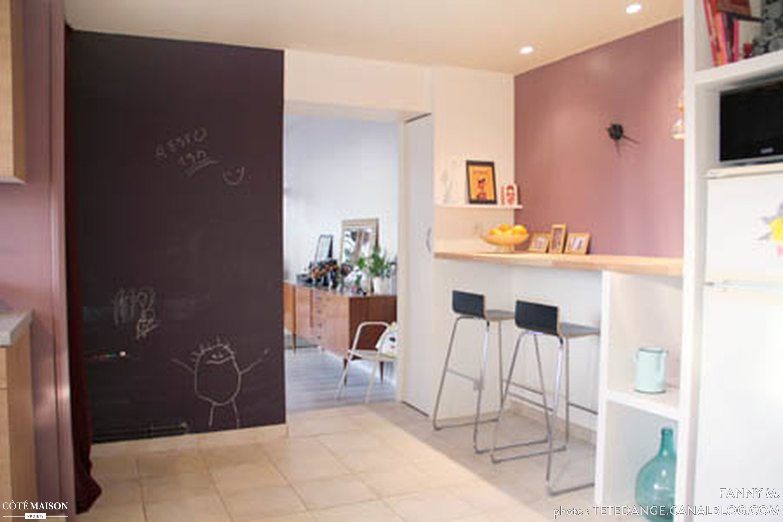 Un coin repas dans la cuisine d co cuisine pinterest for Cuisine couleur rose