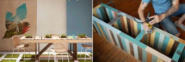 DIY dining room table inspiration - Amanda Hawkins | Outdoor tables ...