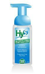 Hy5 Brand Alcohol Free Safer4kids Foaming Instant Hand Sanitizer