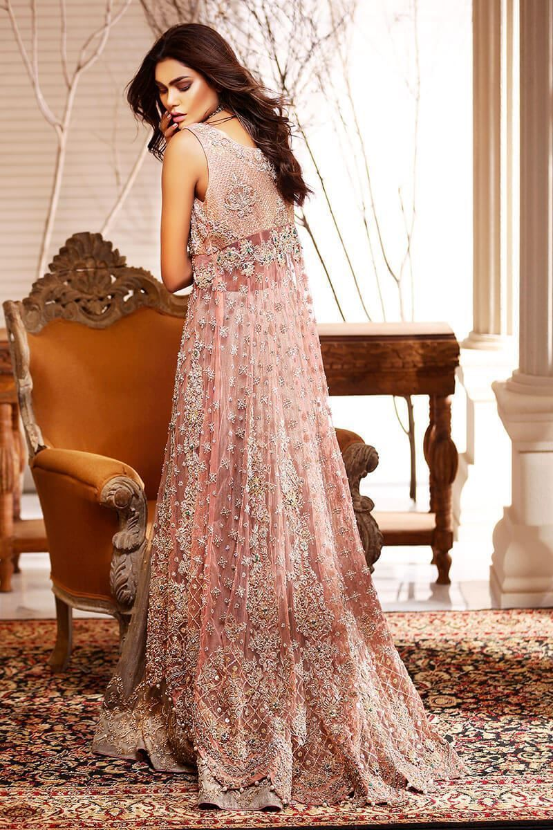 0af1cfc461d 2 KOHINOOR Brown and beige long gown by Aisha Imran Bridal Collection   couture  bridal  wedding  marriage  shaadi  indian  pakistani   designerwear  love ...