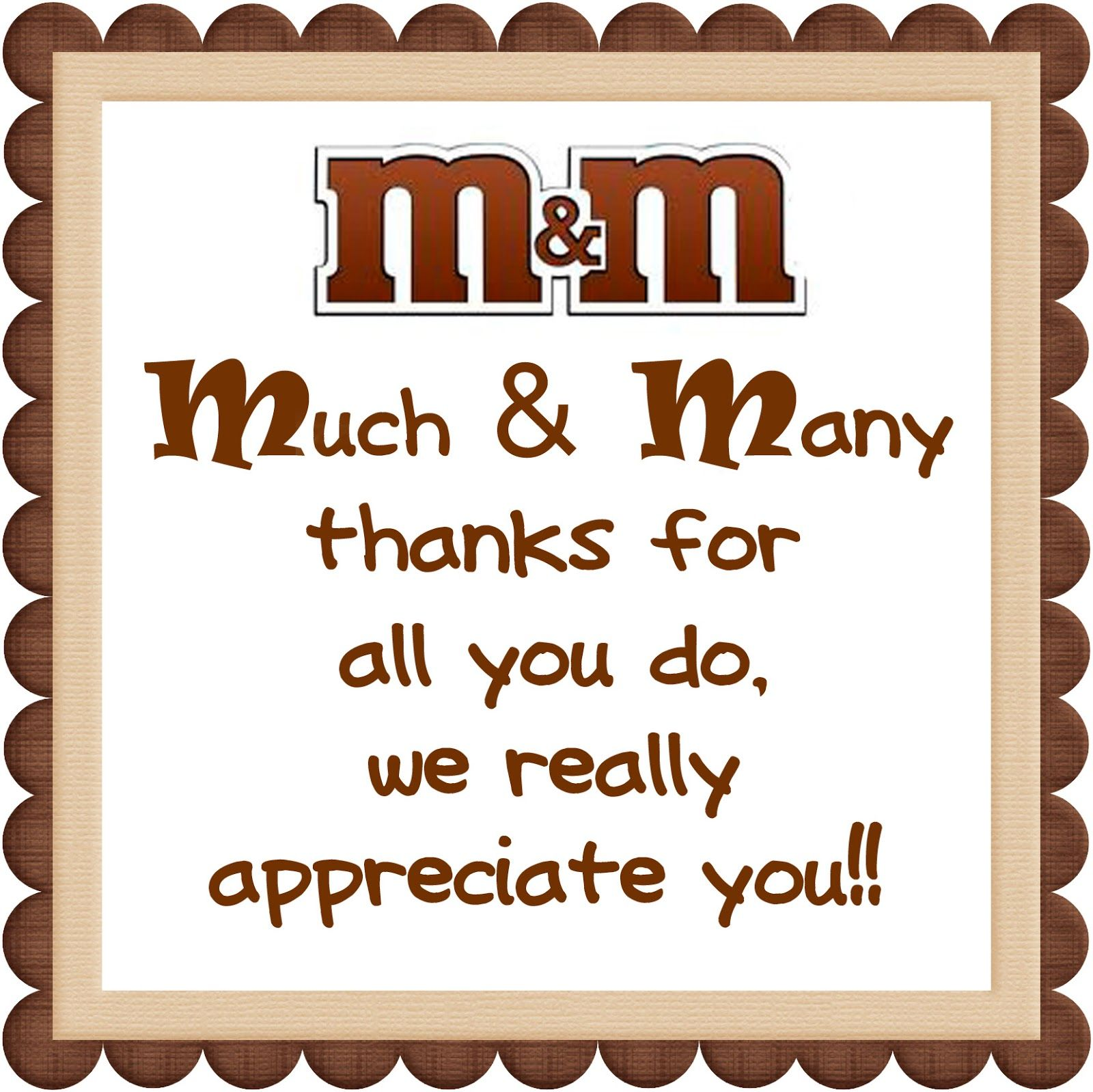 We Love Being Moms!: Candy Bar Printables #employeeappreciationideas