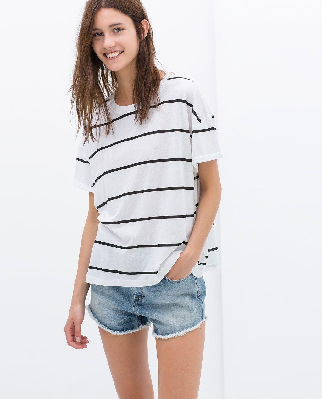 T-Shirt à Rayures Zara |7,95€