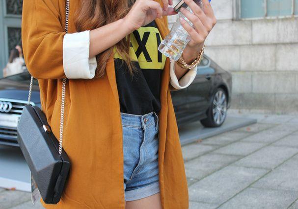Clara à la Portugal Fashion de Porto