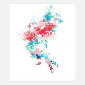 Koi Life Canvas Wrap, $65, now featured on Fab.