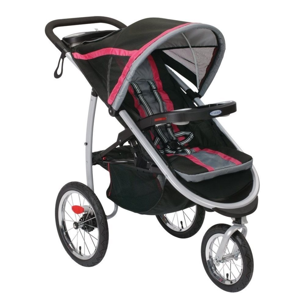 Graco FastAction Fold Jogger Click Connect Baby Jogging Stroller ...