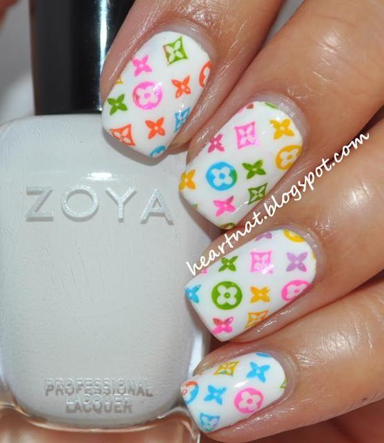fashion nails LV | Nails | Pinterest | Creative nail designs ...