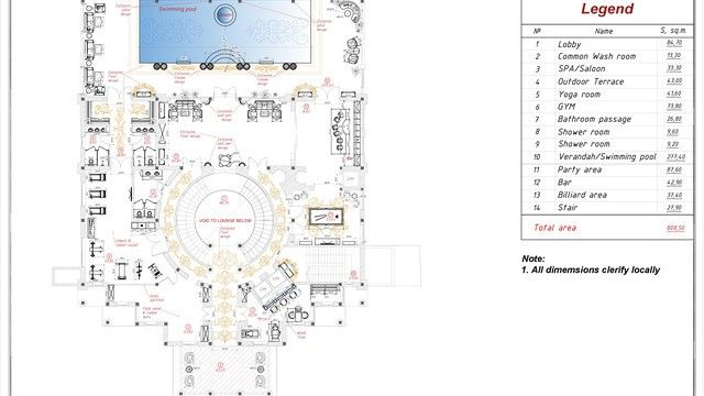Exclusive Villa Floor Plan Luxury House Plans Luxury House Luxury Interior Design