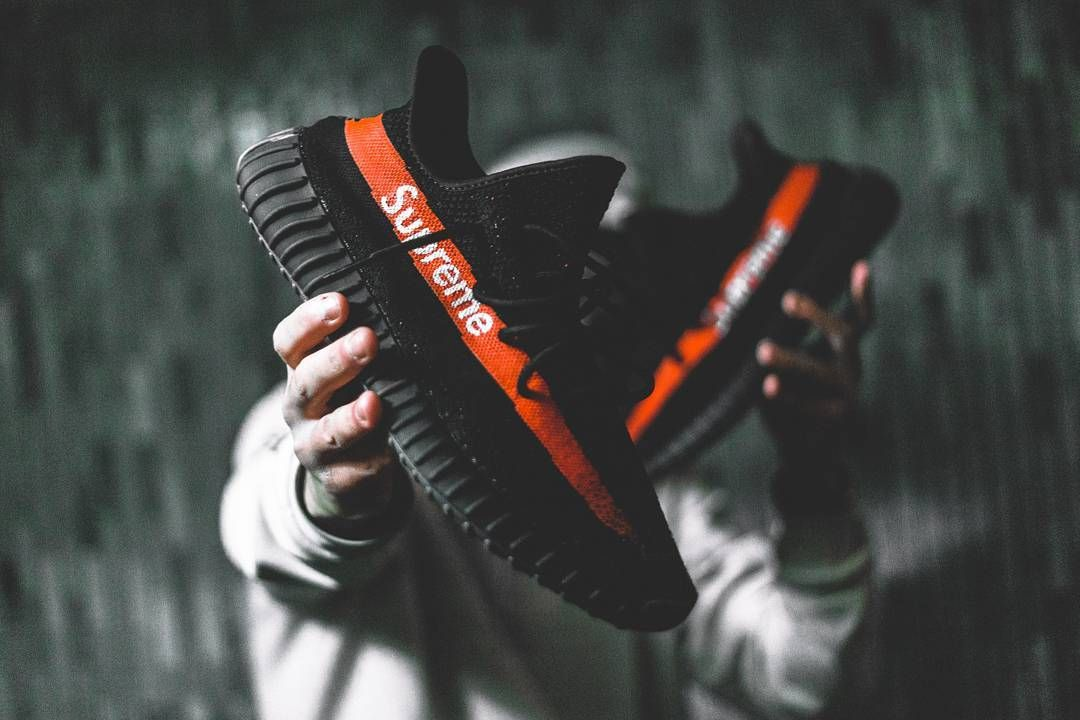 77601d5c4c2f This Supreme x Yeezy Boost 350 V2 Just Blew Our Minds via  thesolesupplier