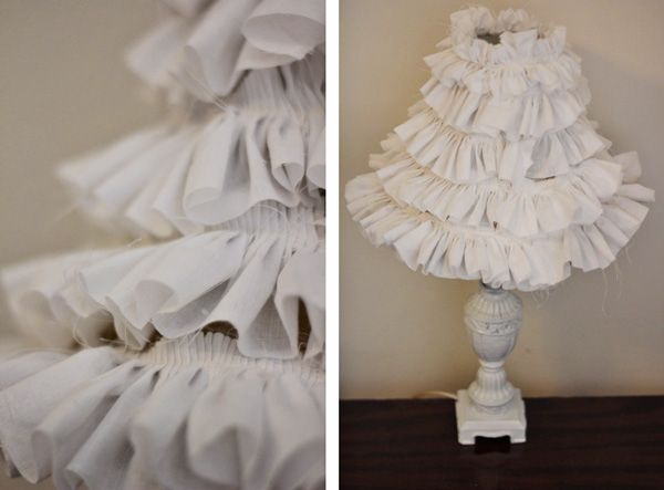 ruffle lamp tutorial - see kate sew