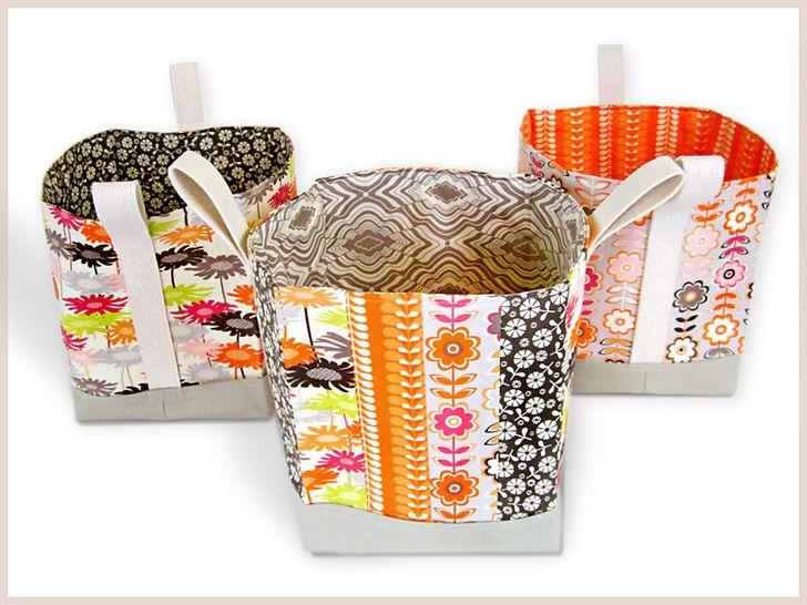 Altos Tecido Box-Cestas | Sew4Home