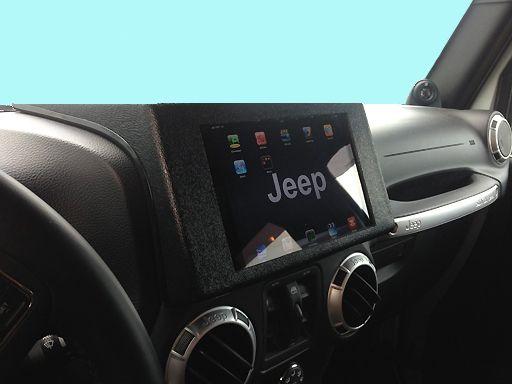 Jeep Ipad Dash Mount Davids05 Disfrutaelmomento Https Www