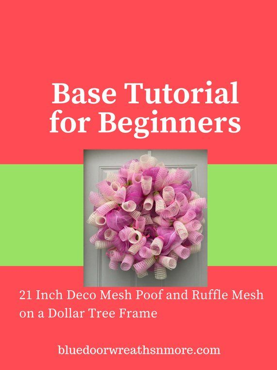 Wreath Base Tutorial Tutorial for Wreaths How to Make a ...