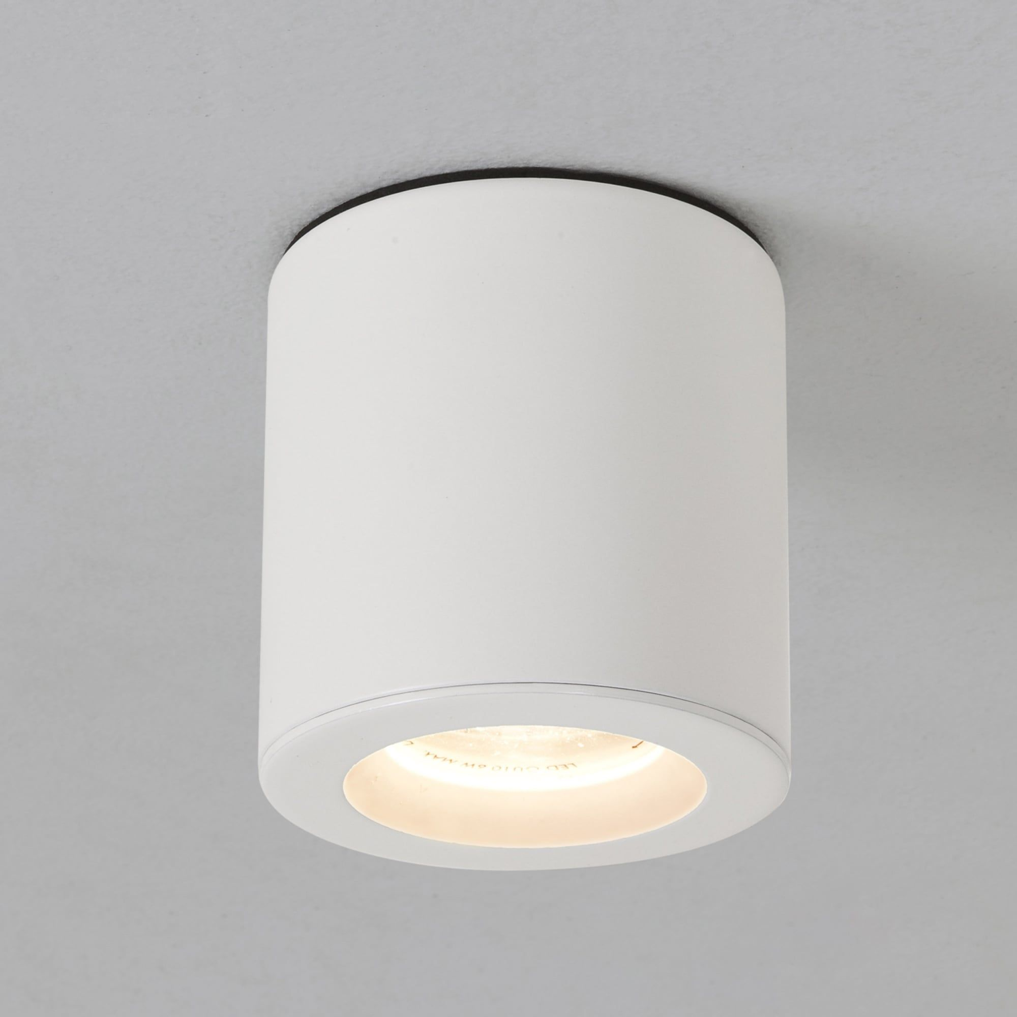Astro lighting kos surface mounted downlight ip in white