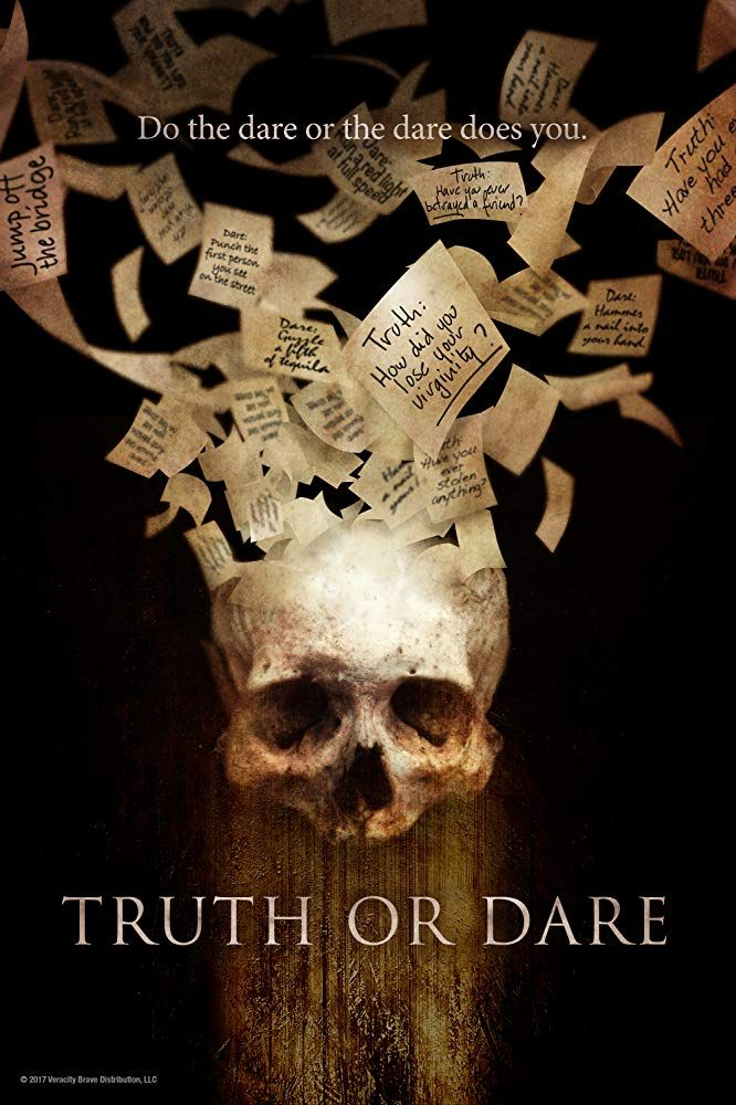Truth or Dare (2017) Movie Time! Movies, Film review